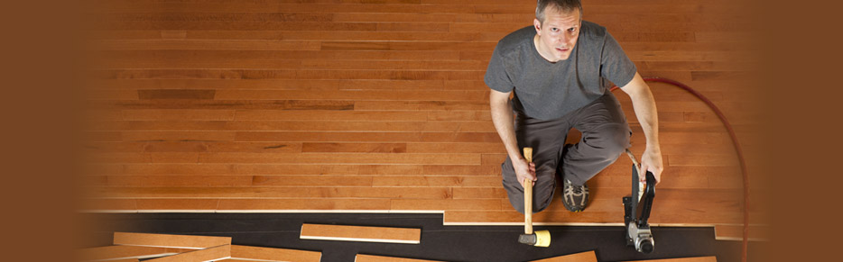 Hardwood floors offer an